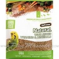 Pienso ZuPreem Multifrutas Small Periquitos y Agapornis