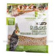 Pienso Zupreem Natural Medium Ninfas y Cotorras