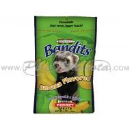 Snacks Marshall Bandits Sabor Banana para Hurones