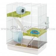 Jaula Ferplast Tris para Hamster y Ardillas