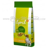 Pienso April Dog Croc Junior (Pollo y Arroz)