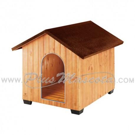 Caseta de madera domus para perros - Caseta perro madera ...