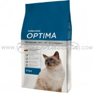 Pienso Optima Cat Fish para Gatos