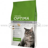 Pienso Optima Cat Hairball para Gatos