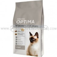Pienso Optima Cat Light para Gatos con Sobrepeso