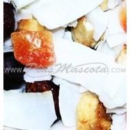 Tropical Mix Frutas Deshidratadas para Loros y Roedores