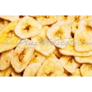 Plátano Troceado Deshidratado para Loros y Roedores