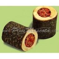 Snack Rollo de Madera Relleno para Loros y Roedores