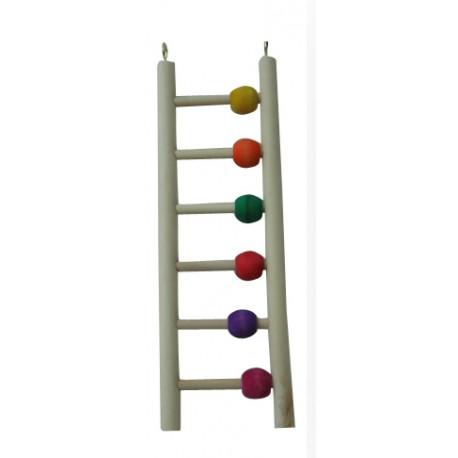 Juguete Escalera Star para Loros Pequeños