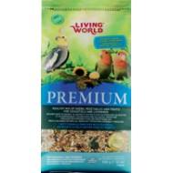 Living World Premium para Carolinas y Agapornis
